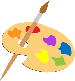 artists-palette-and-brush-300px