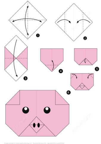 Origami Wolf Tutorial - YouTube | 480x339