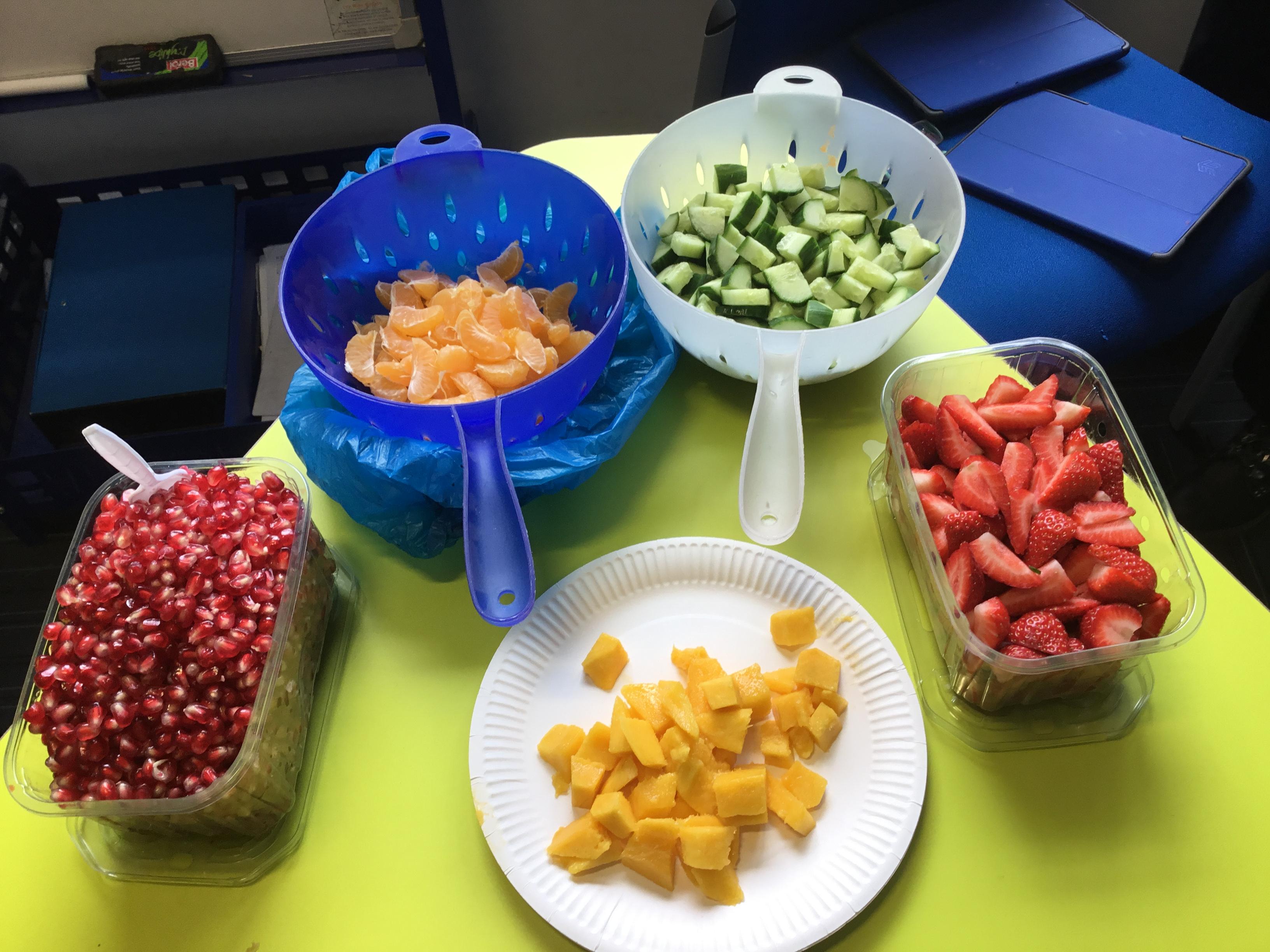 Healthy Eating Week in Year 5